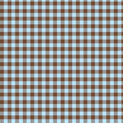 brown gingham pattern brown and sky blue gingham weavingmajor spoonflower