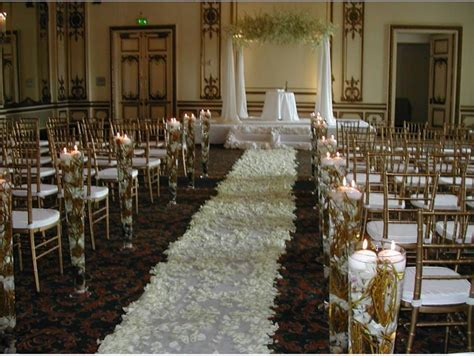 Church Wedding Ceremony Decoration Ideas   Simple And