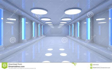 Fantasy Bedrooms Futuristic Room Stock Illustration Image 42644526