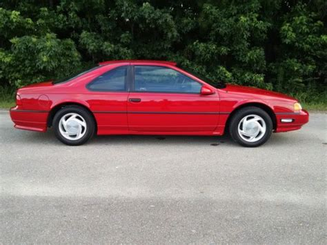1991 red coupe 8 950 buy or sell classic buick reatta coupe or convertible 1991 ford thunderbird super coupe 1 owner 18300 miles noreserve
