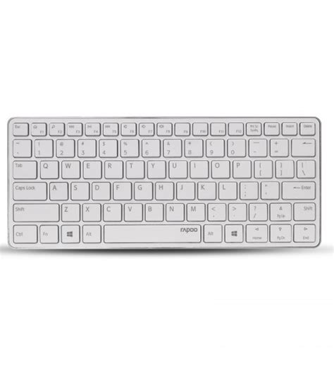 Keyboard For Windows Android Ios Wireless Bluetooth Multimedia rapoo e6350 bluetooth wireless keyboard multimedia ultra slim mini keyboard for windows