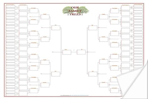 large family tree template large family tree template charts free family tree