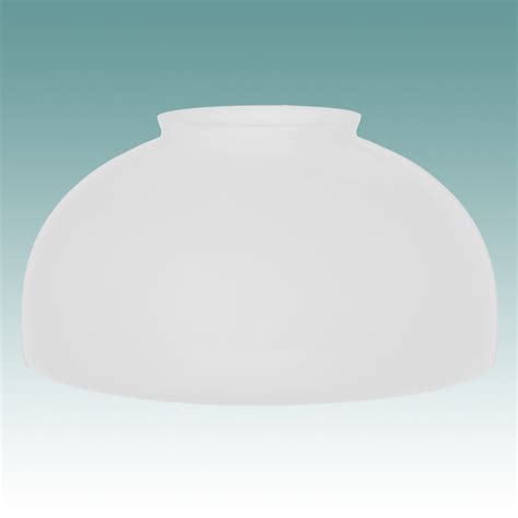 2434 s white dome shade 14 quot glass lshades