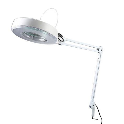 desk magnifying glass with light premium 5x desk cl magnifier l light