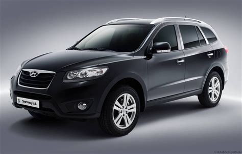 cars beautyfull wallpapers 2010 hyundai santa fe se suv