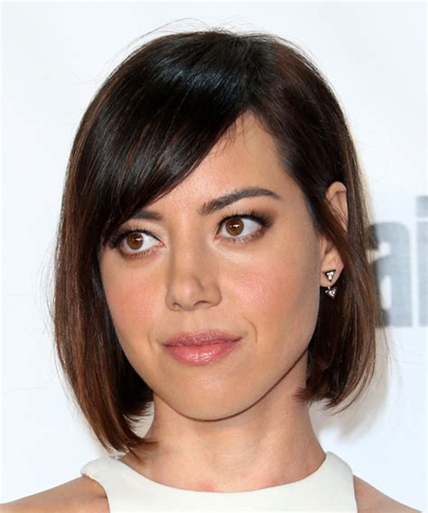 aubrey plaza hairstyles for 2018 celebrity hairstyles by