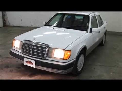 car manuals free online 1992 mercedes benz 300e spare parts catalogs dustyoldcars com 1992 mercedes benz 300e white sn 1235 youtube