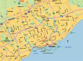 toronto map of canada toronto city map toronto on canada mappery