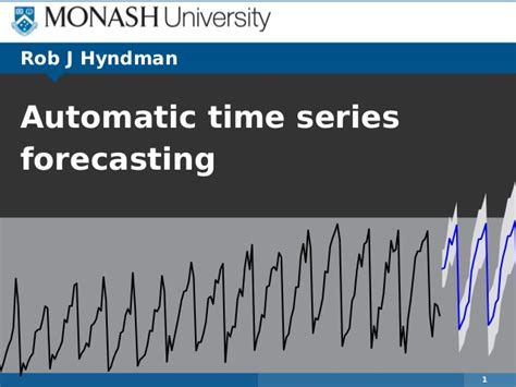Time Series Financial Market Forecasting 1 automatic time series forecasting
