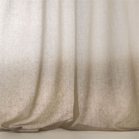 sheer curtain fabric sheer linen fabric for curtains horizon by dedar