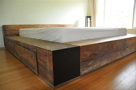 wooden bed platform wooden platform bed baxton studio bentley queen wood