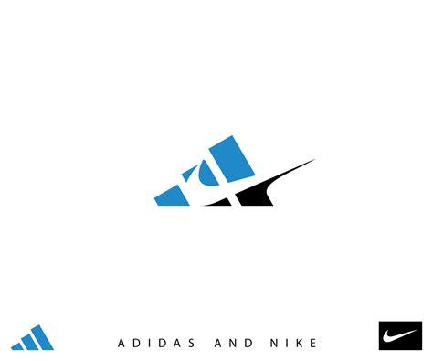 imagenes nike logo 8 marcas rivales mezcladas en un logo marcianos