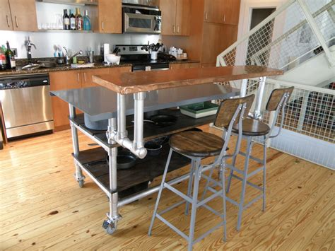 Kitchen Islands On Wheels With Seating by 12 Diy Kitchen Island Designs Amp Ideas Home And Gardening