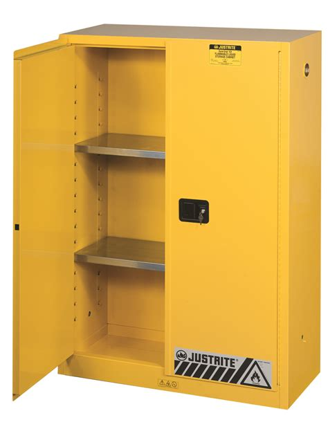 justrite 45 gallon safety cabinet justrite sure grip ex flammable safety cabinet 45 gallon