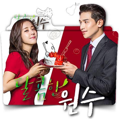 film korea sweet enemy sweet enemy korean tv drama series folder icon by