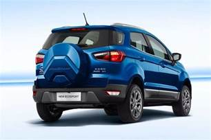 new ecosport car new ford ecosport facelift debuts in china with 174 hp engine