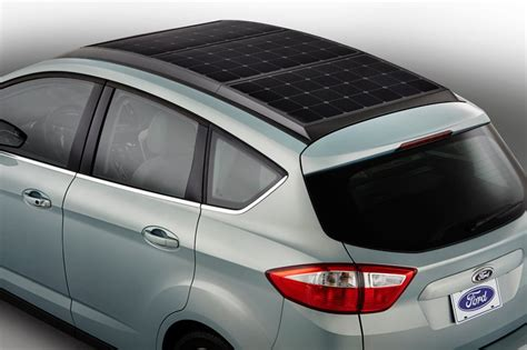 Solar Powered Cruise Cars Use The Sun On The Golf Course by Electric Ford C Max Solar Energi Concept Goes The Grid
