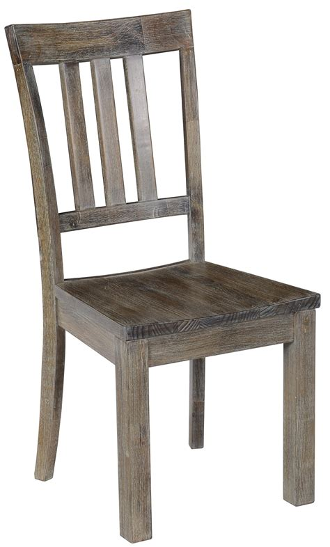 classic home maxwell dining side chair with vertical bar