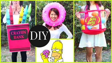diy halloween costumes  kids teenagers  minute