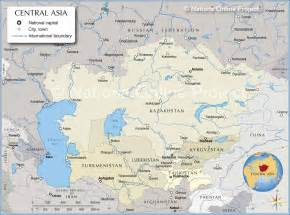 Map Central Asia by Pics Photos Map Of Russian Federation Central Asia And