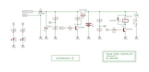 solar panel diode diagram solar circuit and schematic