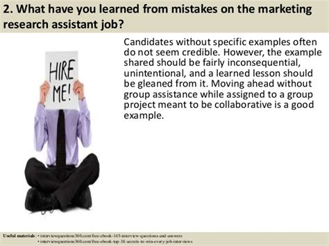 top 52 marketing assistant interview questions and answers pdf
