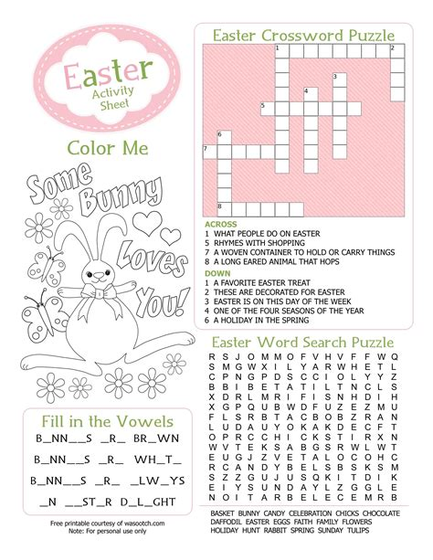 Party Simplicity Free Easter Printables Kids Coloring Pages And More Print Activities For
