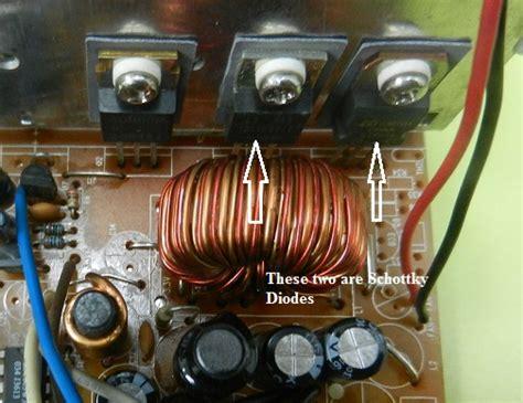 test schottky diode repair komponen komputer cara repair power supply cpu