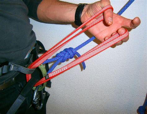 nudo alondra maneras de escalar nudo de alondra con anillos cosidos