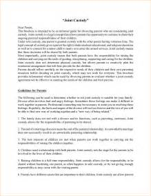 full custody agreement template 12 joint custody agreement forms pay stub template parenting plan for custody of children custody agreement