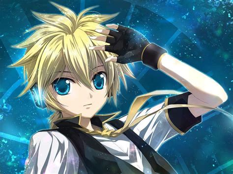 coole len len kagamine wallpapers wallpaper cave
