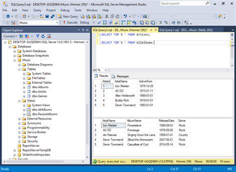 tutorial sql database design sql server 2016 create a database user