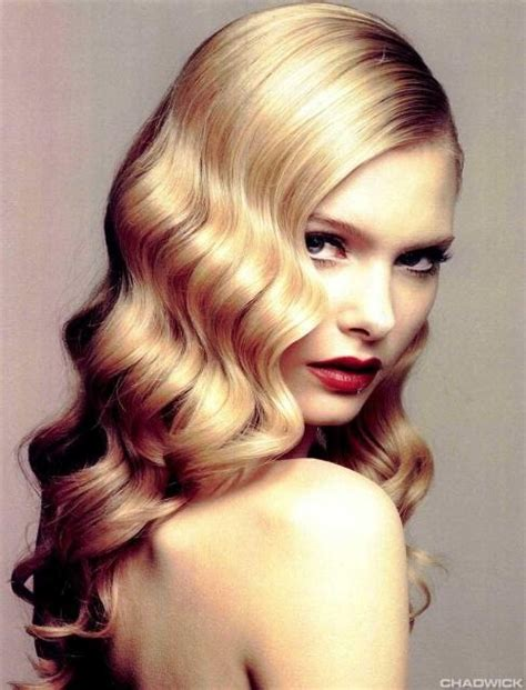 Wedding Hairstyles Vintage Wave by How To Get Easy S Waves Finger Waves Insider