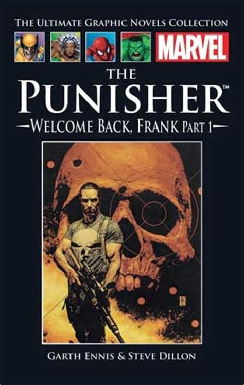 Punisher Welcome Back Frank Tp Marvel Comics the punisher welcome back frank part i marvel ultimate graphic novel collection 24 by garth