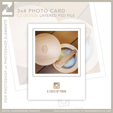 instagram card templates freebie layered 3 215 4 psd template for instagram photos
