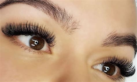 Silk Eyelash Extension mink or silk eyelash extensions char groupon
