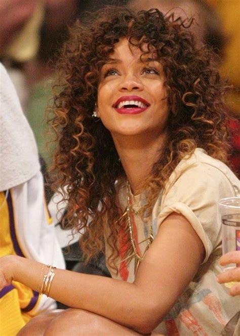 Curly Hairstyles Rihanna | rihanna curly hair rihanna s curly hair amazing hair