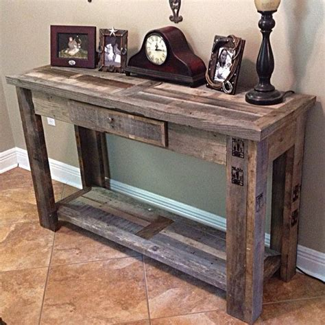 Rustic Console Table 17 Best Ideas About Rustic Console Tables On Pinterest Farmhouse Table Decor Farmhouse Decor