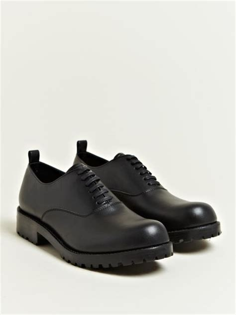 comme des garcons mens sneakers comme des gar 231 ons mens cowhide leather shoes in black for