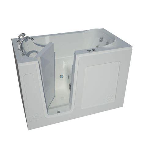 heated whirlpool bathtubs universal tubs nova heated 4 5 ft walk in whirlpool
