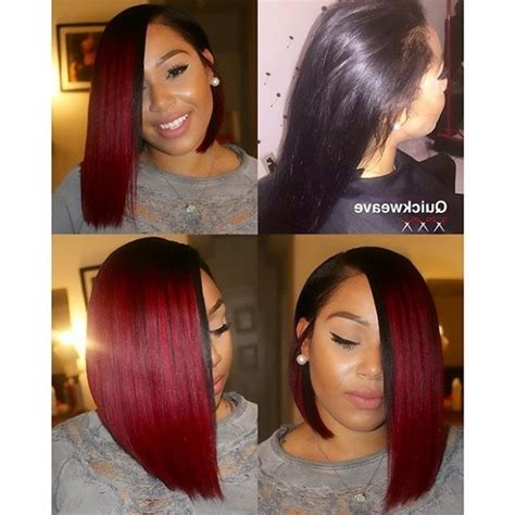 red weave bob amazing quick weave red bob hairstyles quick hair trend