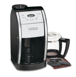 Cuisinart Coffee Maker And Grinder Dgb 550bk Grind Brew 12 Cup Automatic Coffeemaker