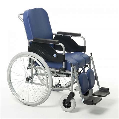sedie comode sedia comoda con ruote grandi posteriori vermeiren 9300
