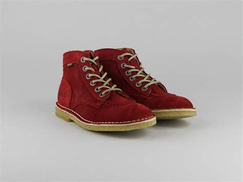 Chaussures Kickers by Chaussures Kickers Kick Legend Montants Croute Velours