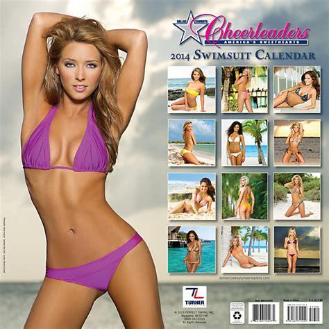 Calendã Mackenzie 2017 15 Dallas Cowboys Swimsuit Calendar Locations