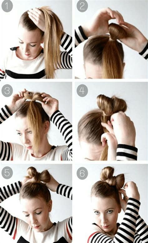 Bow Hairstyle Step By Step by Step By Step Photos Of Bow Hairstyles Hairzstyle