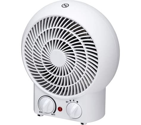 space heater with fan only option buy essentials c20fhw17 fan heater white free delivery