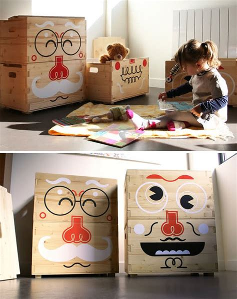 storage boxes childrens room storage for rooms handmade
