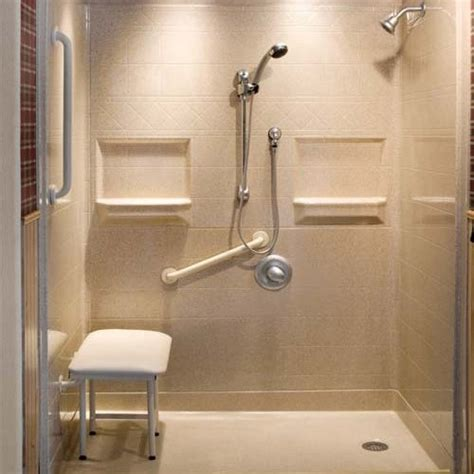 Accessible Walk In Tubs And Roll In Showers Atlanta Home Accessible Showers Bathroom