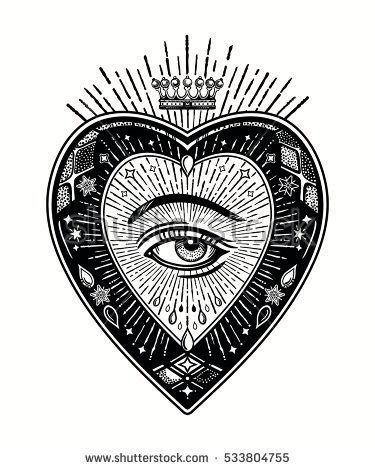vector images, illustrations and cliparts: ornate mystic